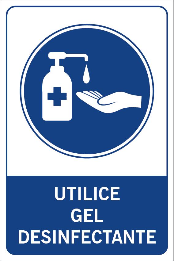 Utilice gel desinfectante