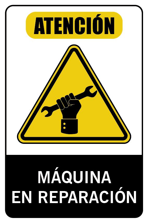 Maquina en Reparación
