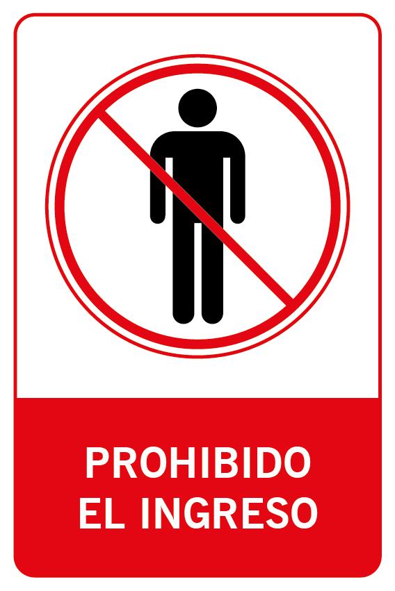Prohibido el ingreso