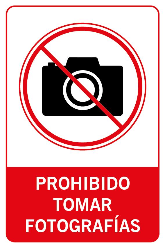 Prohibido tomar fotos