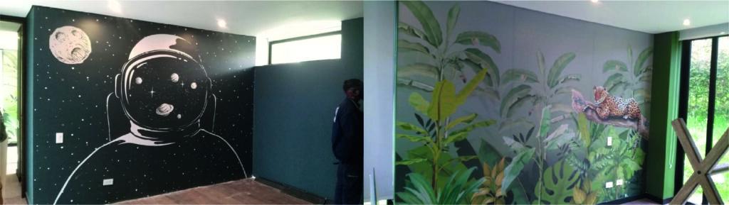 Instalación de vinilo para murales