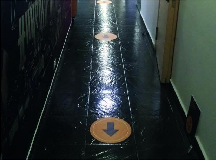 Instalación de Floorgraphics